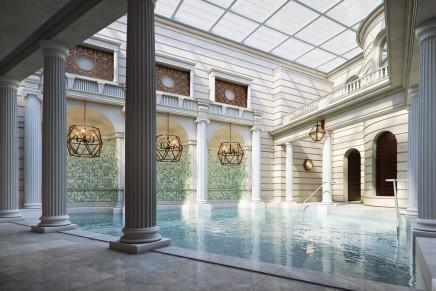 The Gainsborough Bath Spa, Bath, England, opened