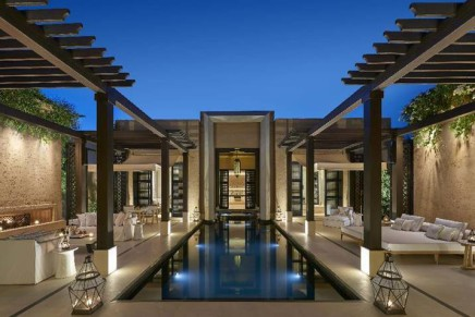The scent of 100,000 roses for the Mandarin Oriental, Marrakech