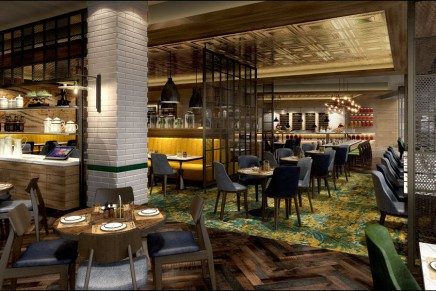 Urban grittiness and polished refinement at Hilton London Bankside