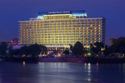 The Nile Ritz-Carlton has reopened