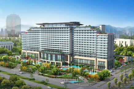 Shangri-La breaks ground for new city resort in Zhoushan, China.
