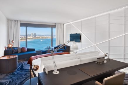 Iconic W Barcelona completes multi-million euro room renovation