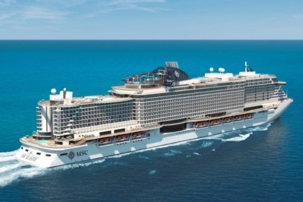 MSC Cruises posts 2018 schedule