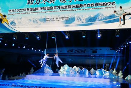 Air China becomes Official Partner of Beijing 2022