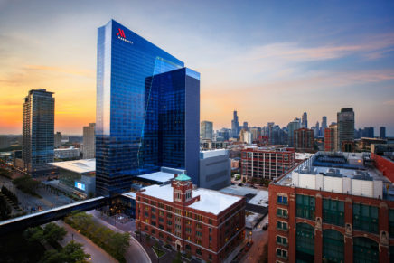 Marriott Marquis makes debut in Chicago