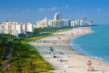 Miami invites vacationers back to the beach