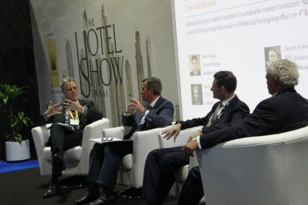 Laurent A. Voivenel speaks on growth of mid-market sector at Dubai's Hotel Show