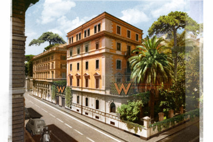 W Hotels is planning to open in Rome
