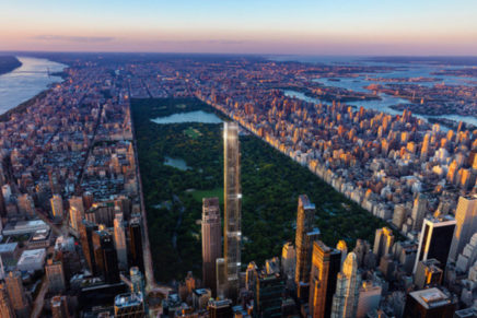 Extell closes on $1.135 bln financing package for Central Park Tower