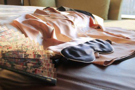 Mandarin Oriental Pudong in Shanghai boasts silk experience