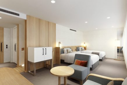 Keio Plaza Hotel Tokyo renovates universal design guests rooms