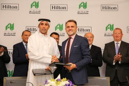 Al Habtoor Group and Hilton sign partnership