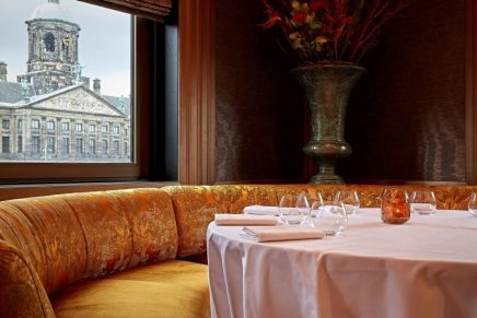 Amsterdam hotel TwentySeven bags awards and Michelin Star
