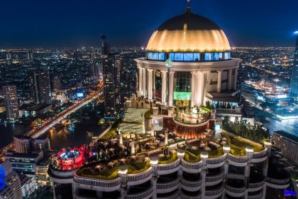 lebua Hotels & Resorts in Bangkok Tops the First Asia-Pacific Ultimate Restaurant Guide for Private Jet Travelers
