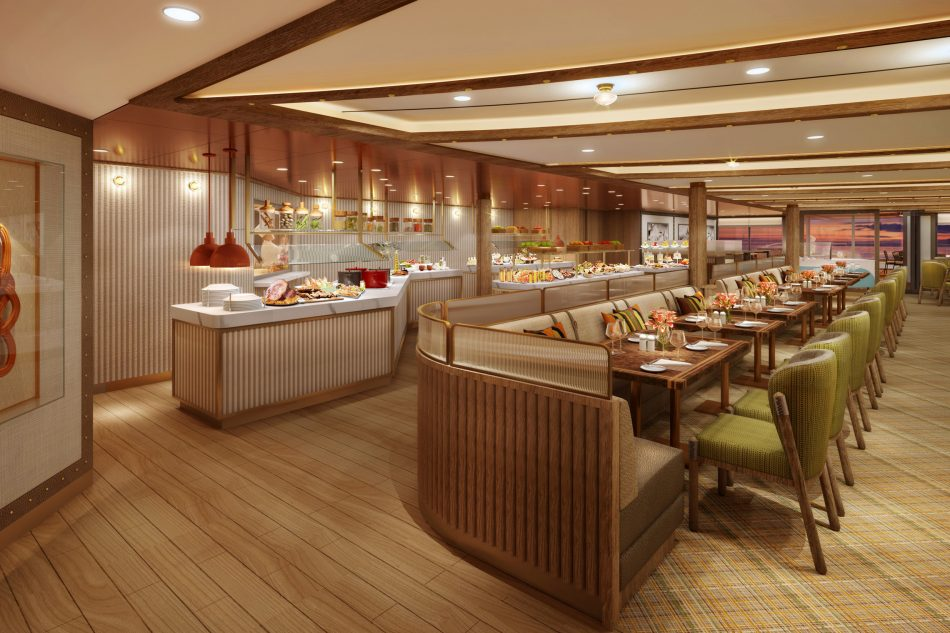 Seabourn Outlines Details For 'The Colonnade' Dining Venue