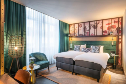 Hotel Indigo opens botanical inspired hotel in Brussels