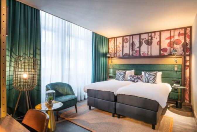 Hotel Indigo opens botanical inspired hotel in Brussels