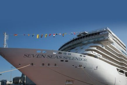 Regent Seven Seas Cruises Christens Ship Seven Seas Splendor