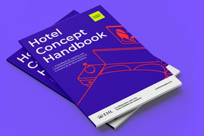 Creative Supply and Ecole hôtelière de Lausanne to release new Hotel Concept Handbook